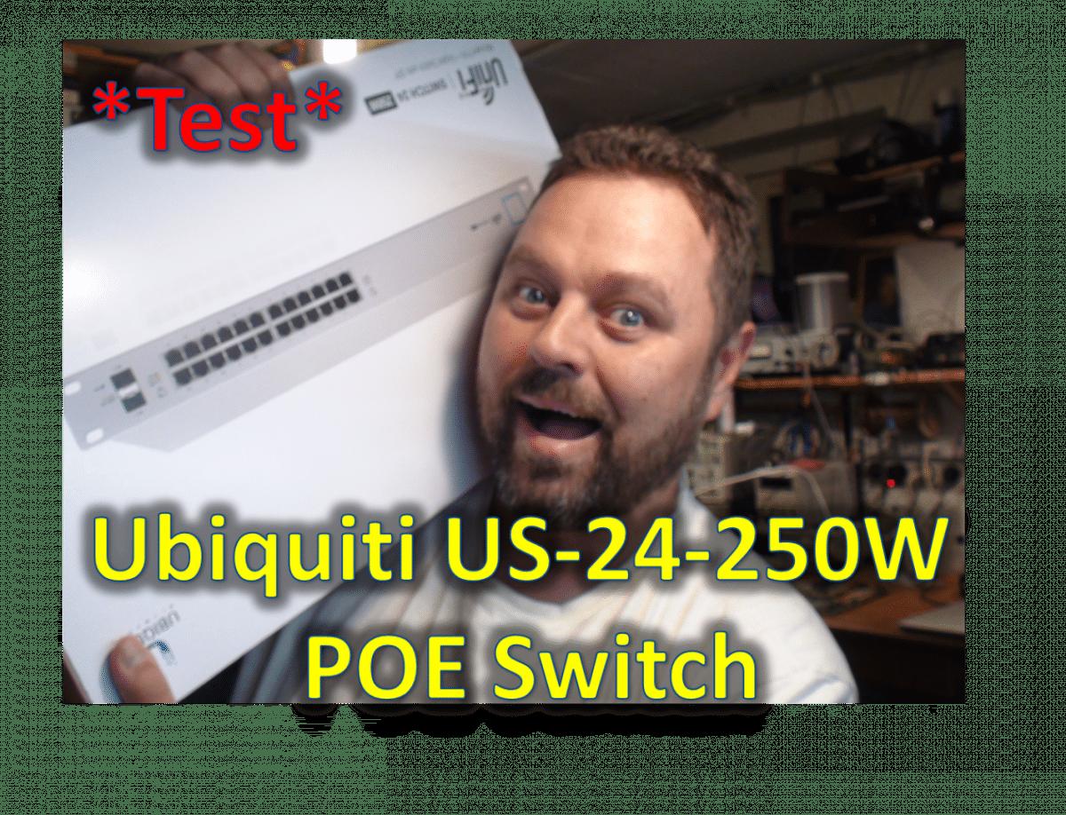 Test og anmeldelse af Ubiquiti 24 port PoE switch