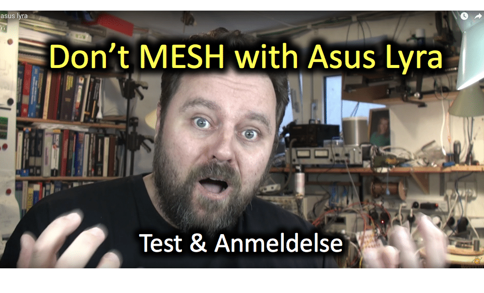 Don't mesh with Asus Lyra