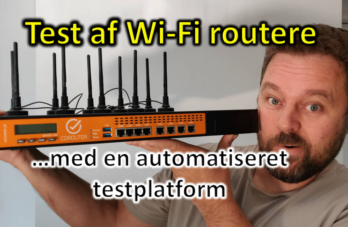 Hvordan tester man Wi-Fi routere?