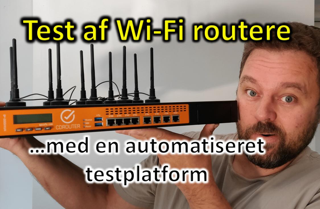 Hvordan tester man Wi-Fi routere?